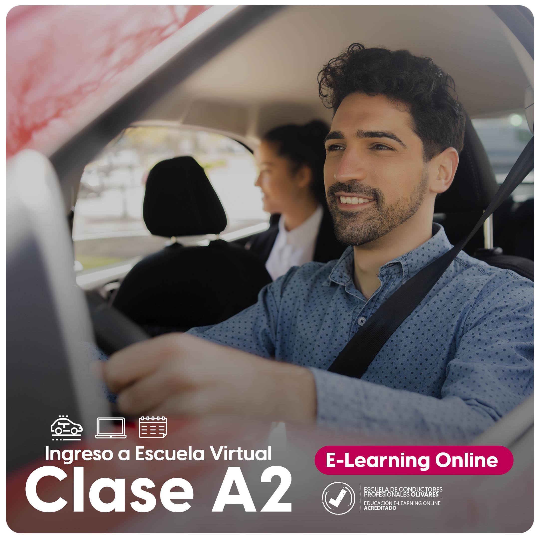Ingreso a Escuela Virtual Clase A2 A4