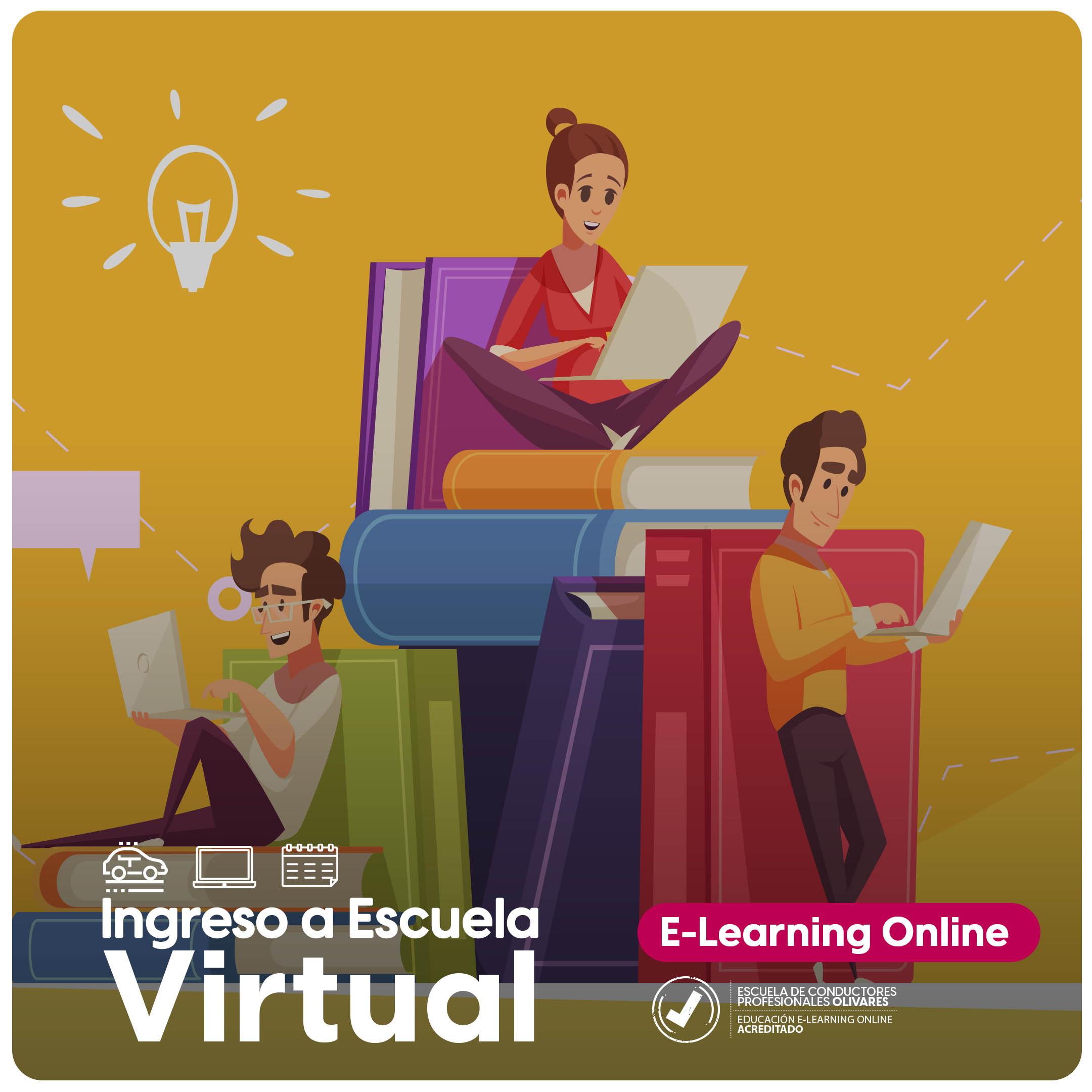 Ingresa a Escuela Virtual